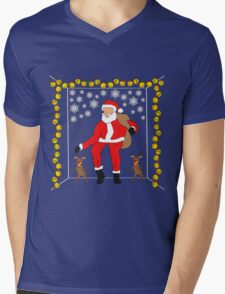 Christmas Eve Bling  Mens V-Neck T-Shirt