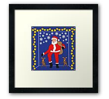 Christmas Eve Bling  Framed Print