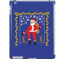 Christmas Eve Bling  iPad Case/Skin