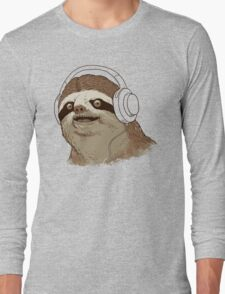 What is a sloths favourite music? Long Sleeve T-Shirt