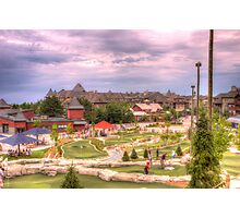 Mini Golf at Blue Mountain Photographic Print