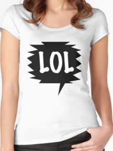 LOL Women's Fitted Scoop T-Shirt