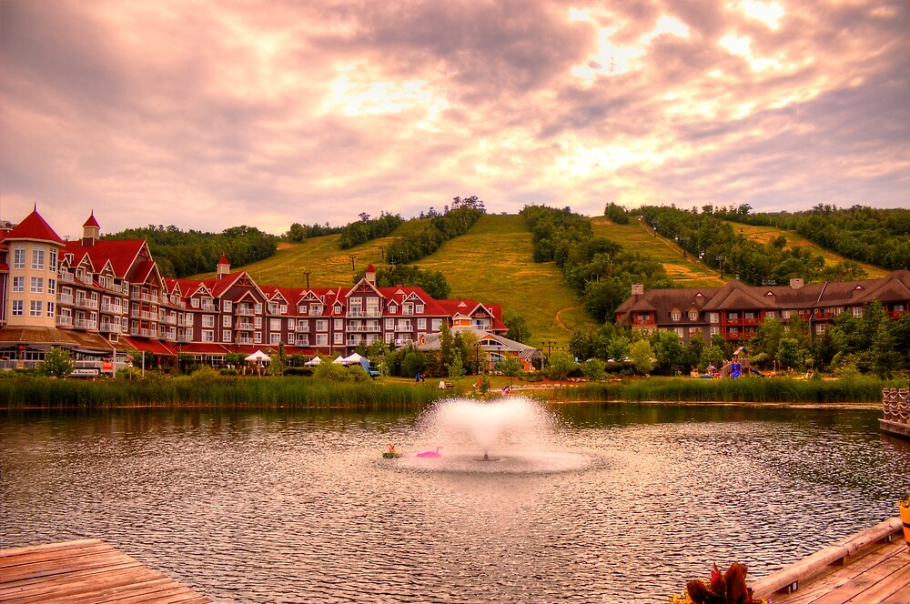 Blue Mountain - HDR by John Velocci