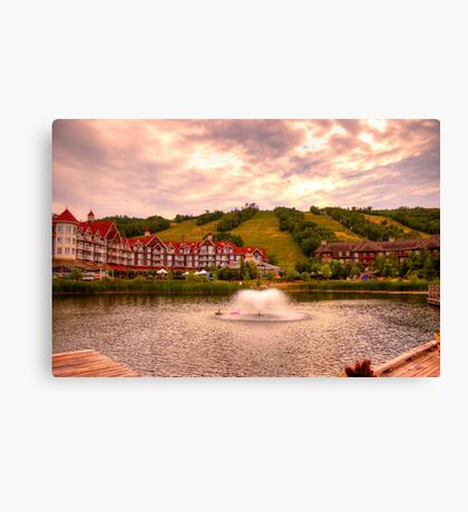 Blue Mountain - HDR Canvas Print