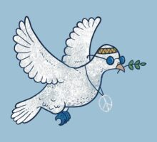 The Hippie Dove Kids Tee