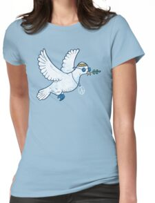 The Hippie Dove Womens Fitted T-Shirt