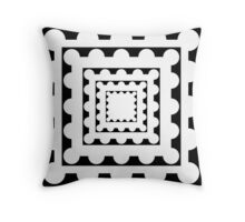 Square and Circle Throw Pillow