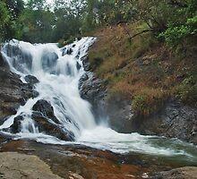Datanla Waterfall by Adri  Padmos