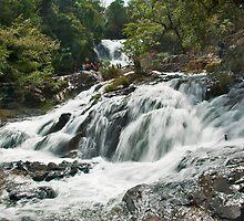 Datanla Waterfall 2 by Adri  Padmos