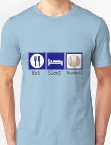 Eat, Sleep, Baseball Unisex T-Shirt