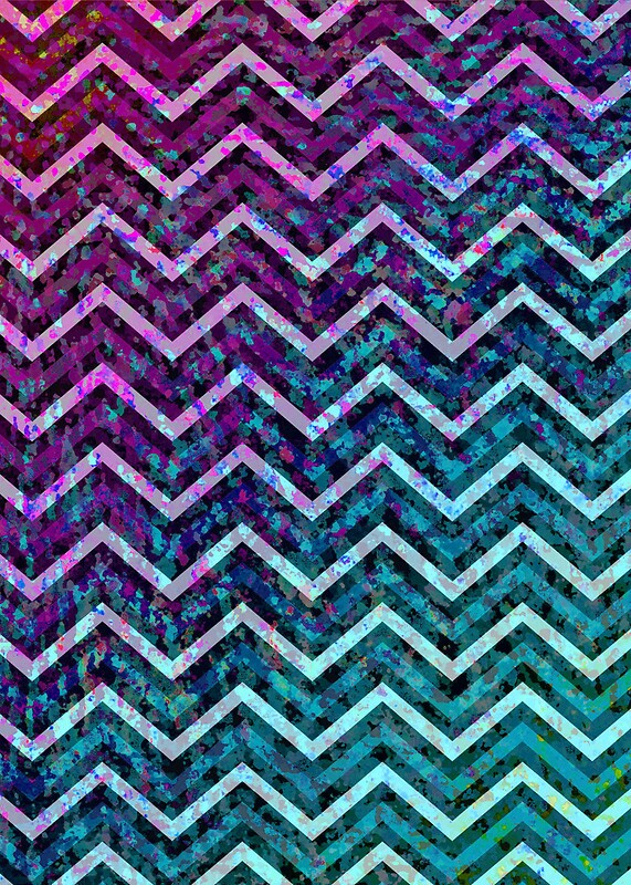 zig zag chevron pattern by medusa81 redbubble