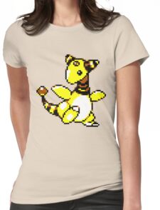 Ampharos Retro Womens Fitted T-Shirt