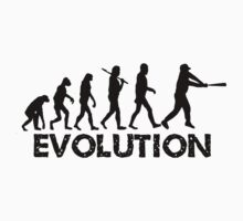 Evolution of a Baseball Player by shakeoutfitters