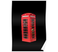 Red Telephone Box Poster