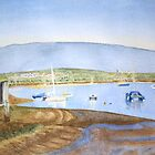 Low Tide, Alvor by HurstPainters