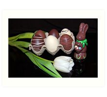 Easter Goodies Art Print