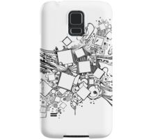 Number One Box - Sketch Pen & Ink Illustration Art Samsung Galaxy Case/Skin