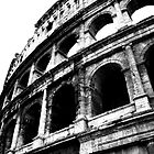 View of the Colosseum of Rome by eZonkey