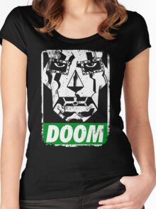 Obey DOOM Women's Fitted Scoop T-Shirt