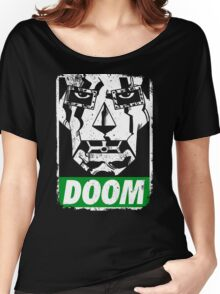 Obey DOOM Women's Relaxed Fit T-Shirt