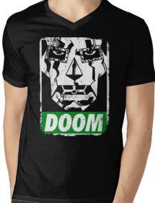 Obey DOOM Mens V-Neck T-Shirt