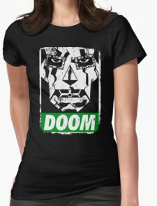 Obey DOOM Womens Fitted T-Shirt