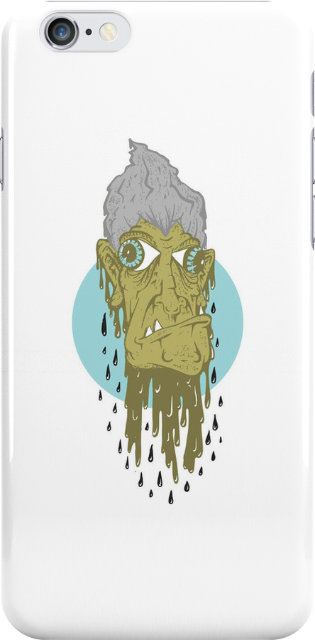 Creepy Nan iPhone Case by Seb Rosa