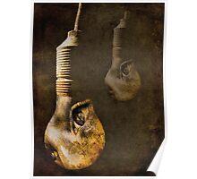 Eye Bulb Poster