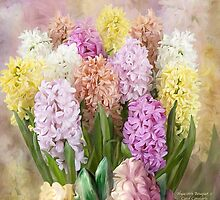 Hyacinth Bouquet 2 by Carol  Cavalaris