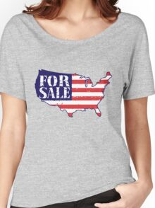America For Sale Women's Relaxed Fit T-Shirt