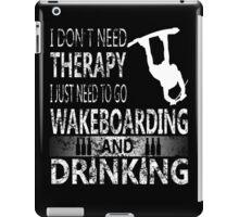 WAKEBOARD N DRINKING iPad Case/Skin