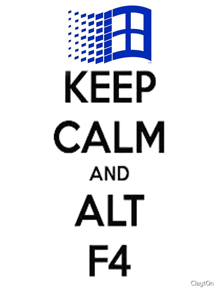 Keep Calm  by Clayt0n
