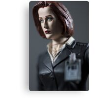 Special Agent Dana Scully Canvas Print