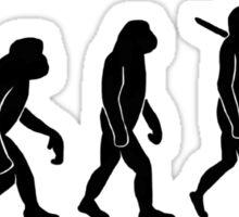 Evolution of Man Sticker