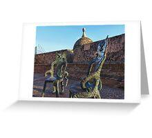 San Juan Chairs Greeting Card