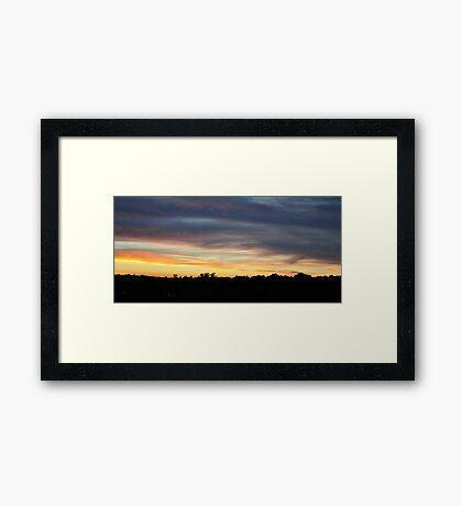 Sunset 1 Framed Print