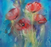 Poppies by Tania Vasylenko