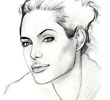 Angelina by JavierMontero
