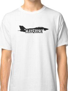 """Maverick"", Top Gun inspired Classic T-Shirt"