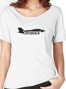 """Maverick"", Top Gun inspired Women's Relaxed Fit T-Shirt"