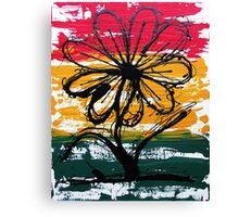Rasta All Dance Canvas Print