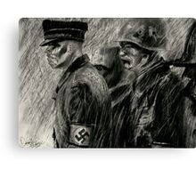 nazi zombies Canvas Print