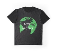 Save and protect Graphic T-Shirt