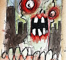 zombie surprise by byronrempel