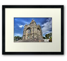Saint Luzia's Basilica - Revisited Framed Print
