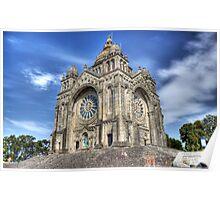Saint Luzia's Basilica - Revisited Poster