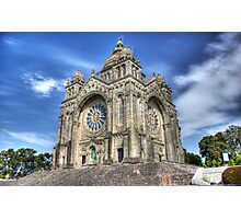 Saint Luzia's Basilica - Revisited Photographic Print