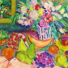 Fruity Feast with Flowers by artqueene
