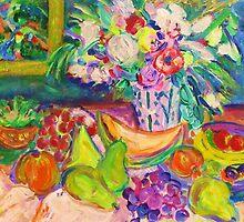 Fruity Feast with Flowers by artqueene