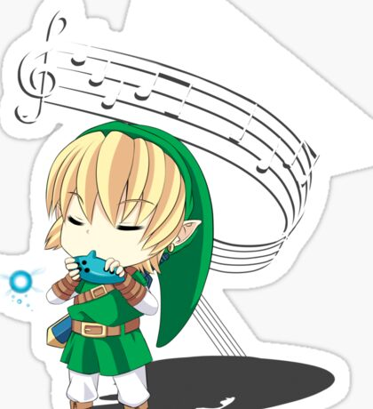 The Hero of Time Sticker